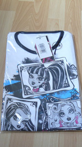 Pyjama manches courtes Monster High