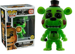 FIVE NIGHTS AT FREDDY'S FUNKO POP TOY FREDDY GITD LIMITED EDITION