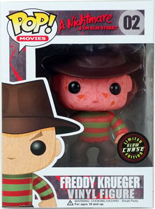 FUNKO POP FREDDY KRUEGER VERSION CHASE EXCLUSIVE GITD