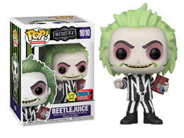 FUNKO POP BEETLEJUICE GITD EXCLUSIVE FALL CONVENTION 2020