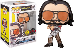 FUNKO POP CYBERPUNK 2077 JOHNNY SILVERHAND EXCLUSIVE GITD