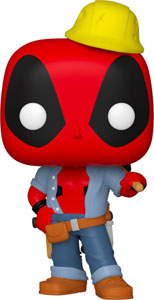 FUNKO POP DEADPOOL 30TH CONSTRUCTION EXCLUSIVE