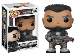GEARS OF WAR FUNKO POP DOMINIC SANTIAGO