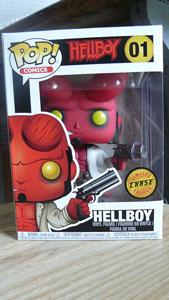 FUNKO POP HELLBOY CHASE EXCLUSIVE (BOITE ENDOMMAGEE)