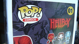 Photo du produit FUNKO POP HELLBOY CHASE EXCLUSIVE (BOITE ENDOMMAGEE) Photo 1