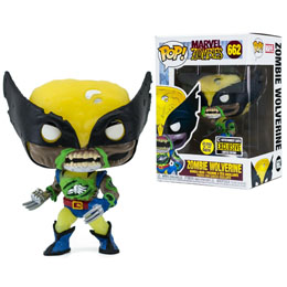FUNKO POP MARVEL ZOMBIE WOLVERINE EXCLUSIVE GITD