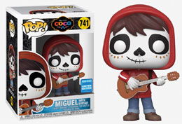 DISNEY FUNKO POP! COCO DAY OF THE DEAD MAKEUP CONVENTION EXCLUSIVE