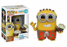 FUNKO POP MINIONS PHIL WITH COCONUT