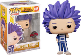 FUNKO POP MY HERO ACADEMIA HITOSHI SHINSO EXCLUSIVE