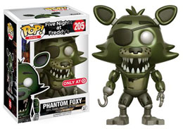 FIVE NIGHTS AT FREDDY'S FUNKO POP PHANTOM FOXY LIMITED EDITION