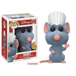 DISNEY RATATOUILLE FUNKO POP REMY CHASE EXCLUSIVE FLOCKED