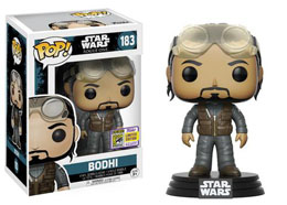 FUNKO POP STAR WARS BODHI SDCC 2017 EXCLUSIVE