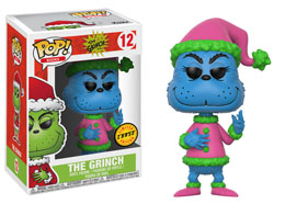 FUNKO POP THE GRINCH VERSION EXCLUSIVE CHASE