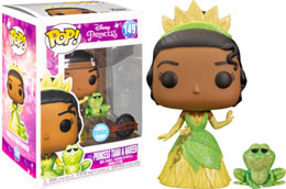 FUNKO POP THE PRINCESS AND THE FROG PRINCESS TIANA AND NAVEEN GLITTER EXCLUSIVE