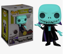 DISNEY FUNKO POP VAMPIRE JACK GITD EXCLUSIVE