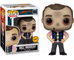 FUNKO POP ZOMBIELAND BILL MURRAY EXCLUSIVE CHASE