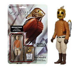 ACTION FIGURES REACTION FIGURES THE ROCKETEER