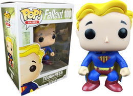 FUNKO POP FALLOUT VAULT BOY TOUGHNESS EXCLUSIVE