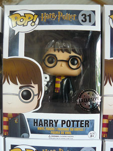 FUNKO POP HARRY POTTER WITH HEDWIGE (STICKER EXCLUSIVE)
