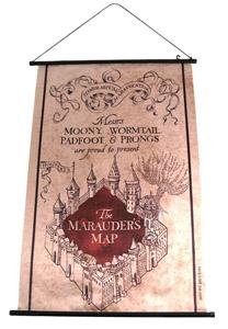 WALLSCROLL HARRY POTTER CARTE DU MARAUDEUR