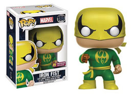 FUNKO POP MARVEL IRON FIST - EMBALLAGE ENDOMMAGE