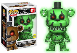 FUNKO POP NIGHTMARE FREDDY GREEN GITD
