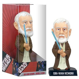 Photo du produit STAR WARS WACKY WOBBLER OBI-WAN KENOBI (BOITE USEE)