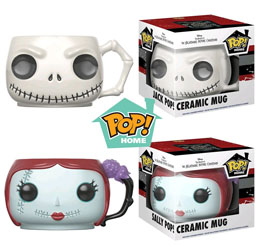 DISNEY LOT DE 2 MUGS FUNKO POP! HOME JACK ET SALLY