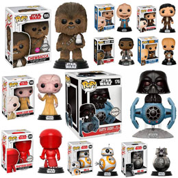 PACK ECO 10 FUNKO POP STAR WARS