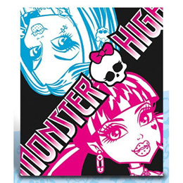 MONSTER HIGH COUVERTURE POLAIRE