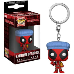 PORTE-CLE POCKET POP DEADPOOL BATHROOM