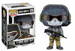 FUNKO POP CALL OF DUTY LT. SIMON 'GHOST' RILEY