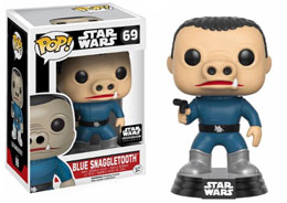 STAR WARS FUNKO POP SNAGGLETOOTH BLUE