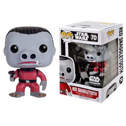 STAR WARS FUNKO POP SNAGGLETOOTH RED VERSION